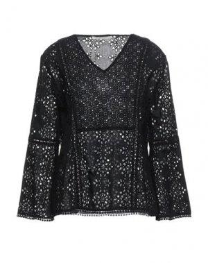 Блузка GAUDÌ. Цвет: черный