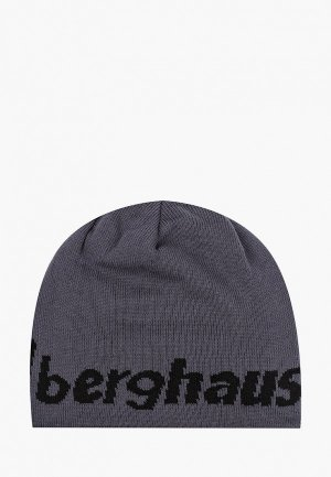 Шапка Berghaus ULVETANNA BEANIE, двусторонняя. Цвет: серый