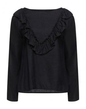 Блузка COMPAÑIA FANTASTICA. Цвет: черный
