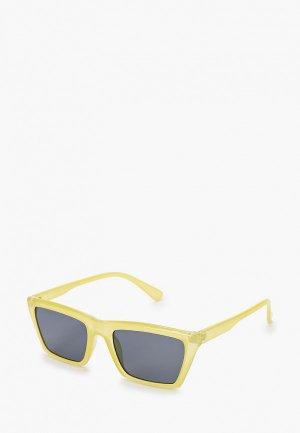 Очки солнцезащитные Topman. Цвет: желтый