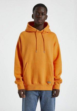 Худи Pull&Bear. Цвет: оранжевый