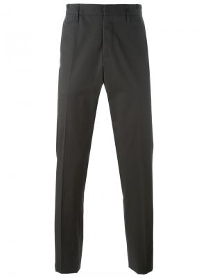 Классические брюки Lanvin. Цвет: зелёный