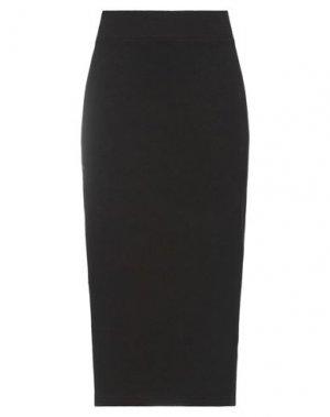 Юбка миди MAMA B.. Цвет: темно-коричневый