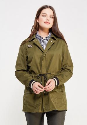 Куртка Violeta by Mango - CAROLA1. Цвет: хаки