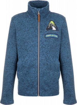 Джемпер флисовый для мальчиков , размер 116 Outventure. Цвет: синий