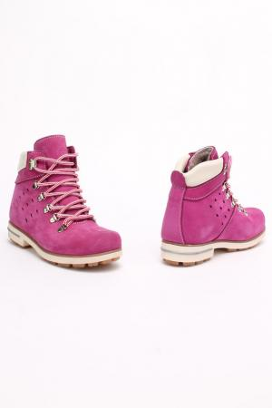 Ботинки Excavator. Цвет: красный