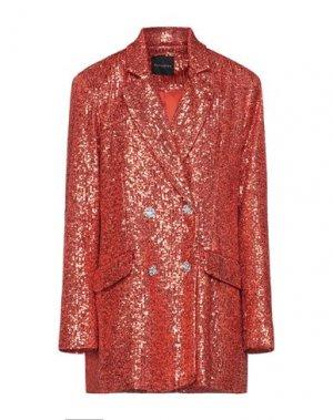 Пиджак ACTUALEE. Цвет: оранжевый