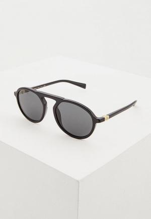 Очки солнцезащитные Dolce&Gabbana DG4351 501/87. Цвет: черный
