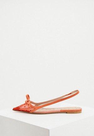 Туфли RED(V). Цвет: оранжевый
