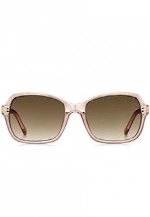 Солнцезащитные очки FOSSIL. Цвет: бежевый