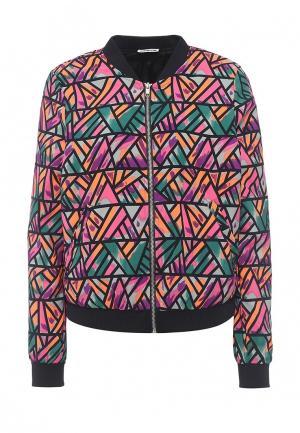 Куртка Noisy May. Цвет: разноцветный