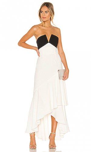 Вечернее платье JILL STUART. Цвет: белый