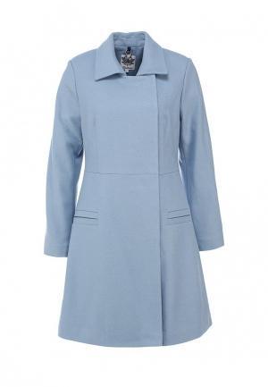 Пальто Libellulas. Цвет: голубой