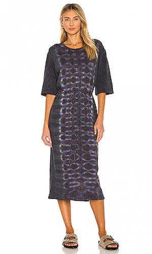 Платье-майка Raquel Allegra. Цвет: черный