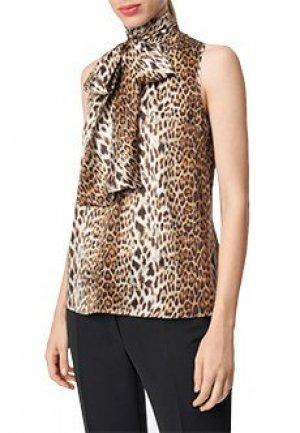 Блуза LUISA SPAGNOLI. Цвет: разноцветный