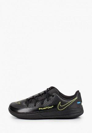 Бутсы Nike JR PHANTOM GT CLUB IC. Цвет: черный