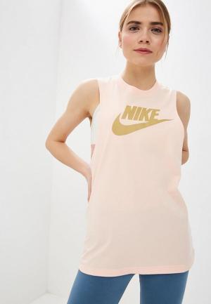 Майка Nike SPORTSWEAR ESSENTIAL WOMENS TANK. Цвет: розовый