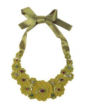 Ожерелье LIBERTY London. Цвет: кислотно-зеленый