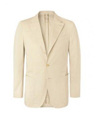 Пиджак CARUSO. Цвет: бежевый
