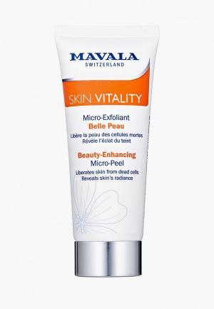 Скраб для лица Mavala улучшения цвета Skin Vitality Beauty-Enchancing Micro-Peel, 65 мл. Цвет: прозрачный