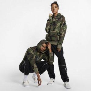 Худи с камуфляжным принтом для скейтбординга SB Icon Nike