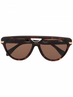 Солнцезащитные очки-авиаторы 8503 Cazal. Цвет: коричневый