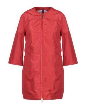 Легкое пальто GEOSPIRIT. Цвет: красный