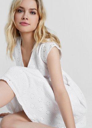 Платье Baby Doll O`Stin. Цвет: белый
