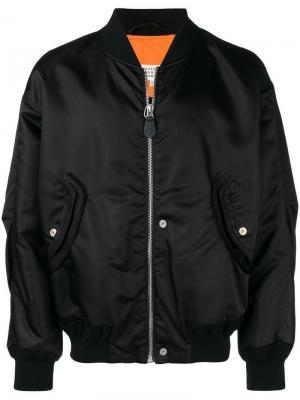 Структурированная куртка-бомбер Maison Margiela