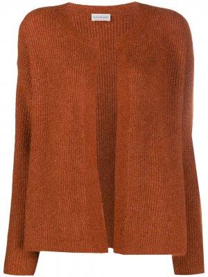 Кардиган с длинными рукавами By Malene Birger. Цвет: коричневый