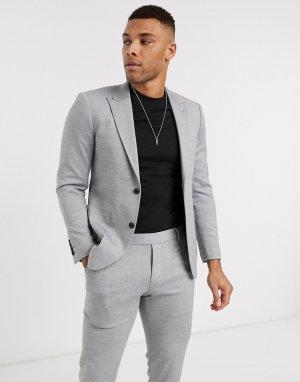 Серый пиджак Only & Sons