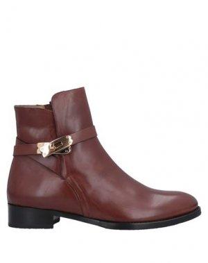 Полусапоги и высокие ботинки CALPIERRE. Цвет: желто-коричневый