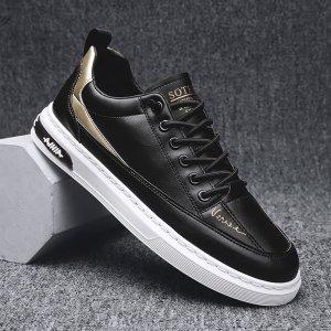 Мужской Обувь для скейтбординга на шнурках SHEIN. Цвет: чёрный
