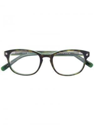 Очки в оправе прямоугольной формы Dsquared2 Eyewear. Цвет: чёрный