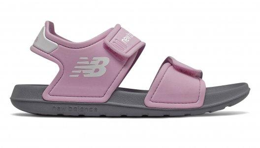 Сандалии Kids New Balance. Цвет: розовый