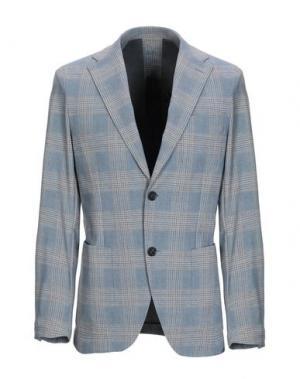 Пиджак TRAIANO. Цвет: небесно-голубой