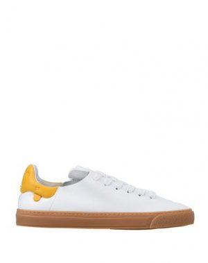 Низкие кеды и кроссовки ANYA HINDMARCH. Цвет: белый