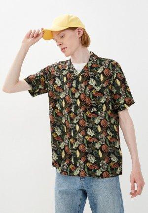 Рубашка Henderson. Цвет: черный