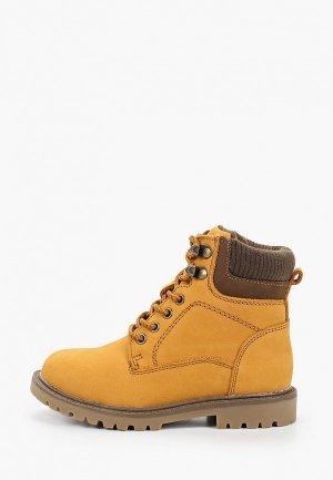 Ботинки Alessio Nesca. Цвет: оранжевый