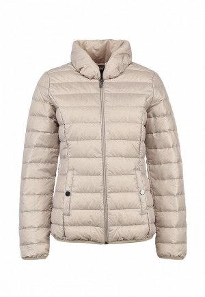 Куртка утепленная Comma CO004EWLR387. Цвет: бежевый