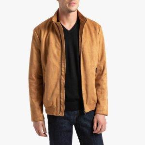 Куртка LaRedoute. Цвет: каштановый