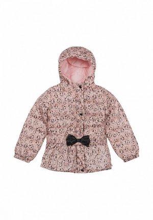 Куртка утепленная Born. Цвет: розовый