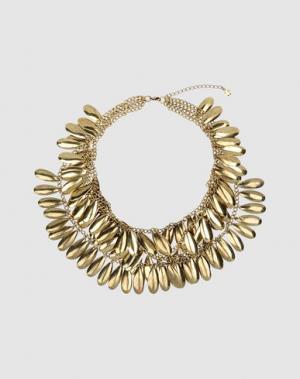 Ожерелье FRIIS COMPANY. Цвет: золотистый