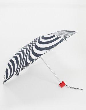 Зонт в полоску -Мульти Lulu Guinness