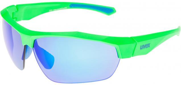 Солнцезащитные очки Sportstyle 216 Uvex. Цвет: голубой