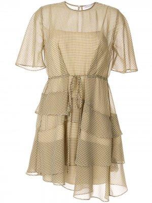 Платье мини Mason CAMILLA AND MARC. Цвет: зеленый