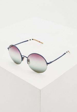Очки солнцезащитные Burberry BE3101 1269E5. Цвет: синий