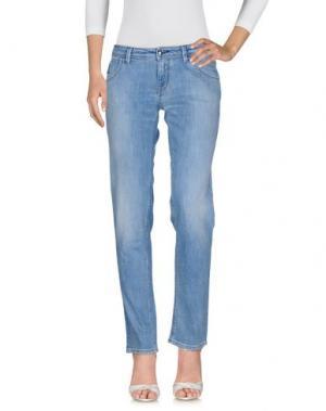 Джинсовые брюки HOGAN. Цвет: синий