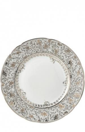 Тарелка салатная Eden Platine Bernardaud. Цвет: бесцветный
