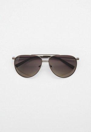 Очки солнцезащитные Thom Richard поляризованные. Цвет: серый